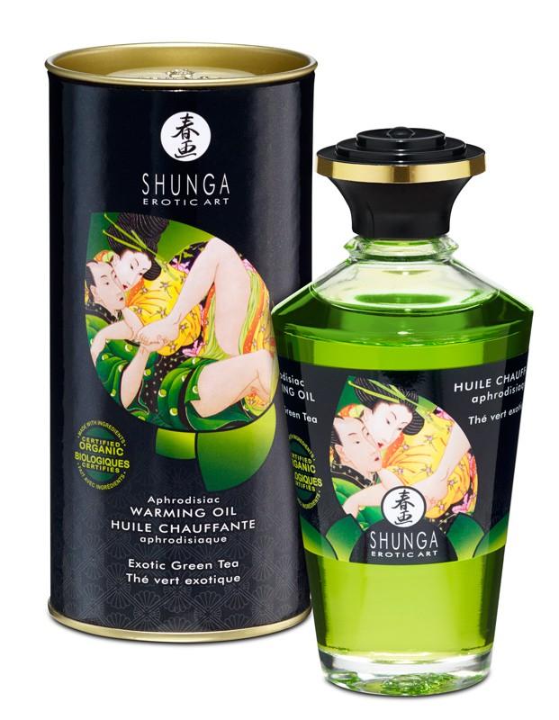 Les huiles de massage Shunga