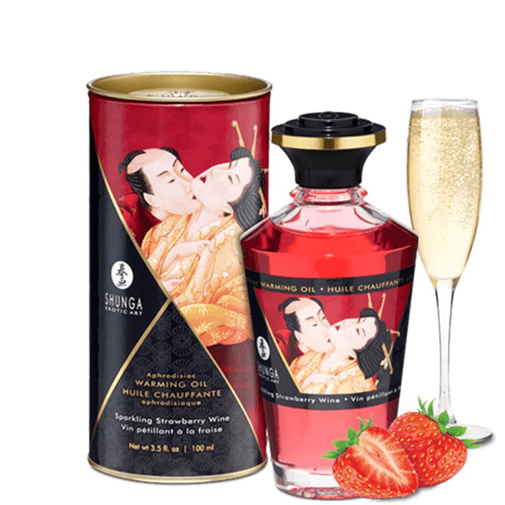 grossiste shunga huile chauffante
